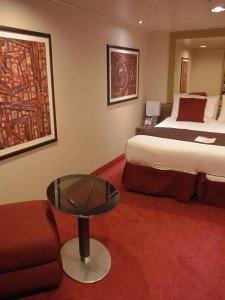 Floor Space of Interior Room