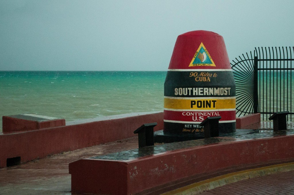Southernmost point of the continental US