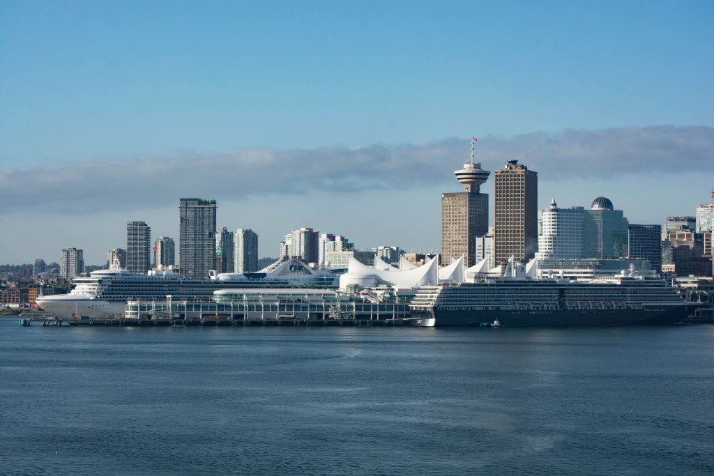 Canada Place with MS Noordam and Star Princess