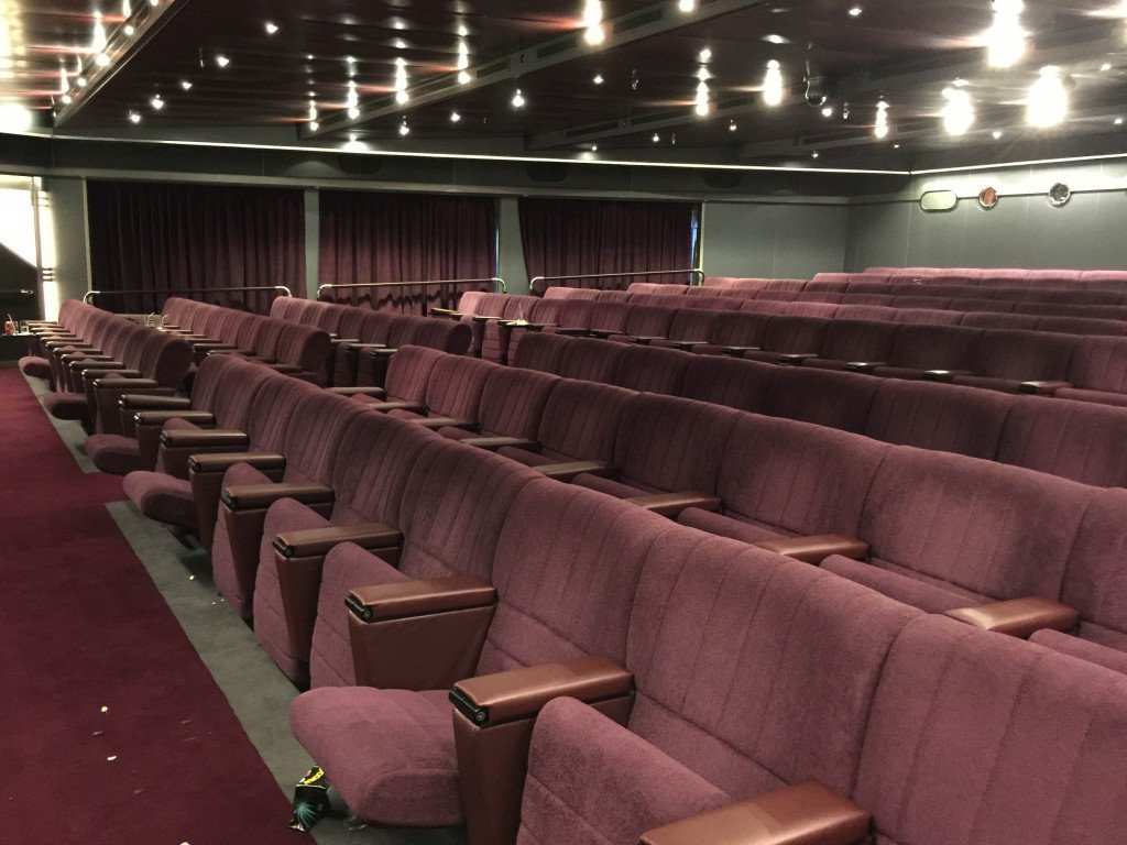 Inside the MS Amsterdam Wajang Theater