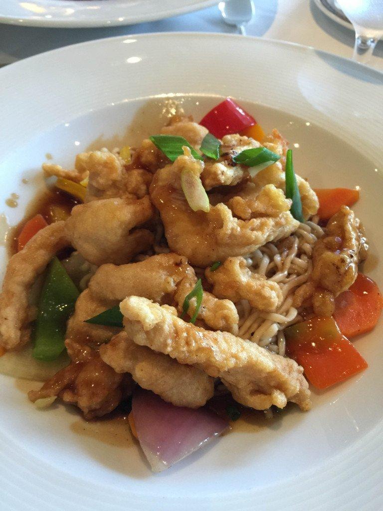 MS Amsterdam Szechuan Chicken
