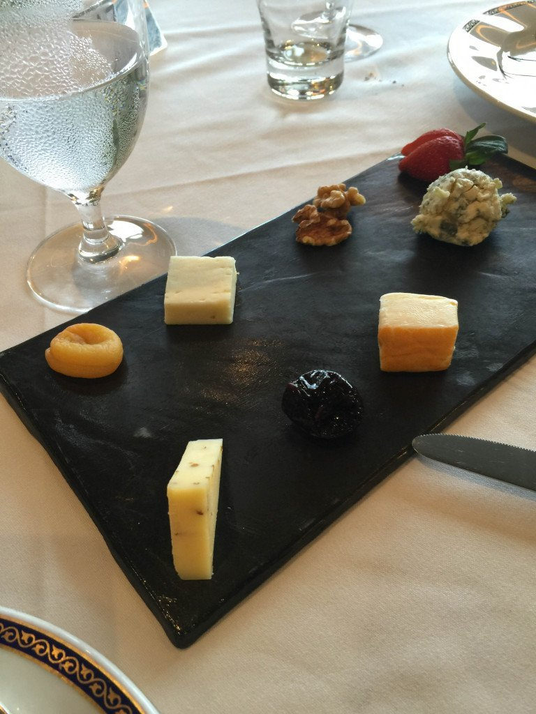MS Amsterdam Cheese Plate
