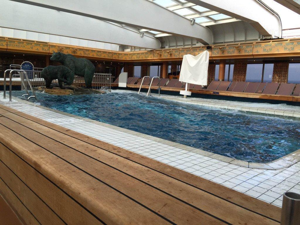 MS Amsterdam Lido Pool