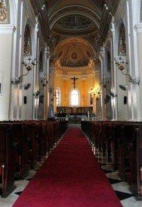 Inside Cathedral of San Juan Bautista Church - San Juan, Puerto Rico