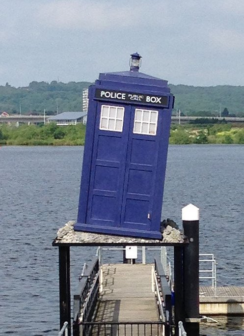 Doctor Who Experience - Tardis near the water