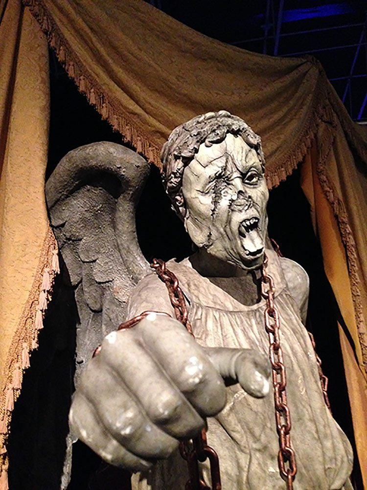 Doctor Who Experience - Weeping Angel