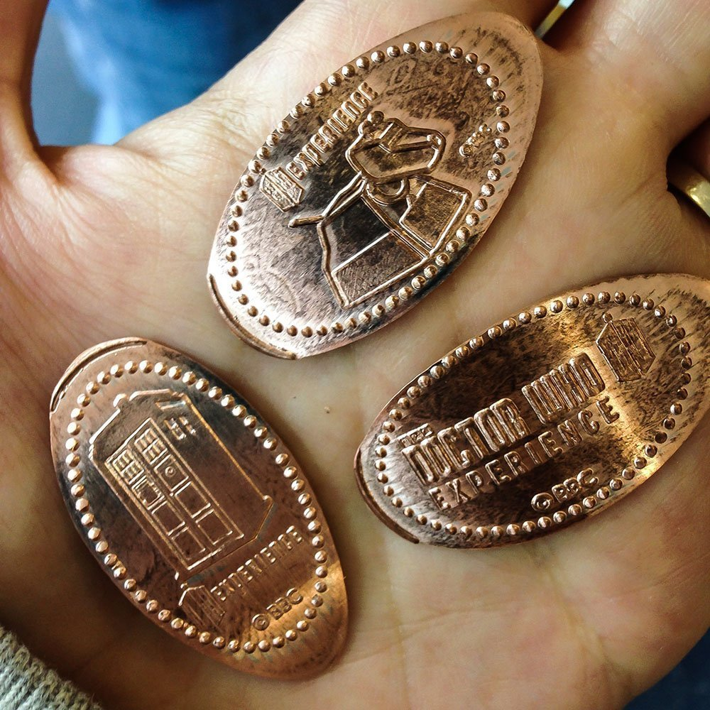 Doctor Who Experience - Squished Pennies