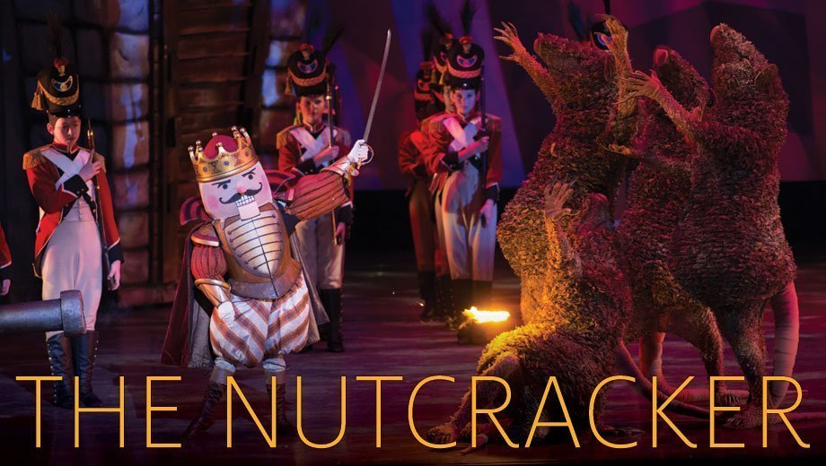 The Arizona Ballet performs that Nutcracker. Battle between the Rat, the nutcracker and the soldiers