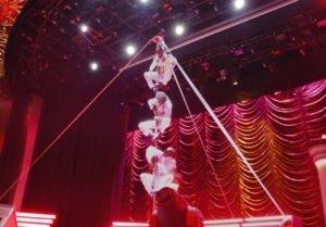 MSC Divina - Pantheon Theater - Acrobats