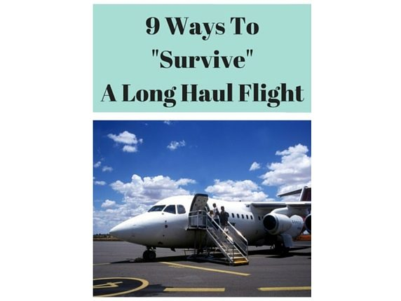 9 Ways to Survive a Long Haul Flight