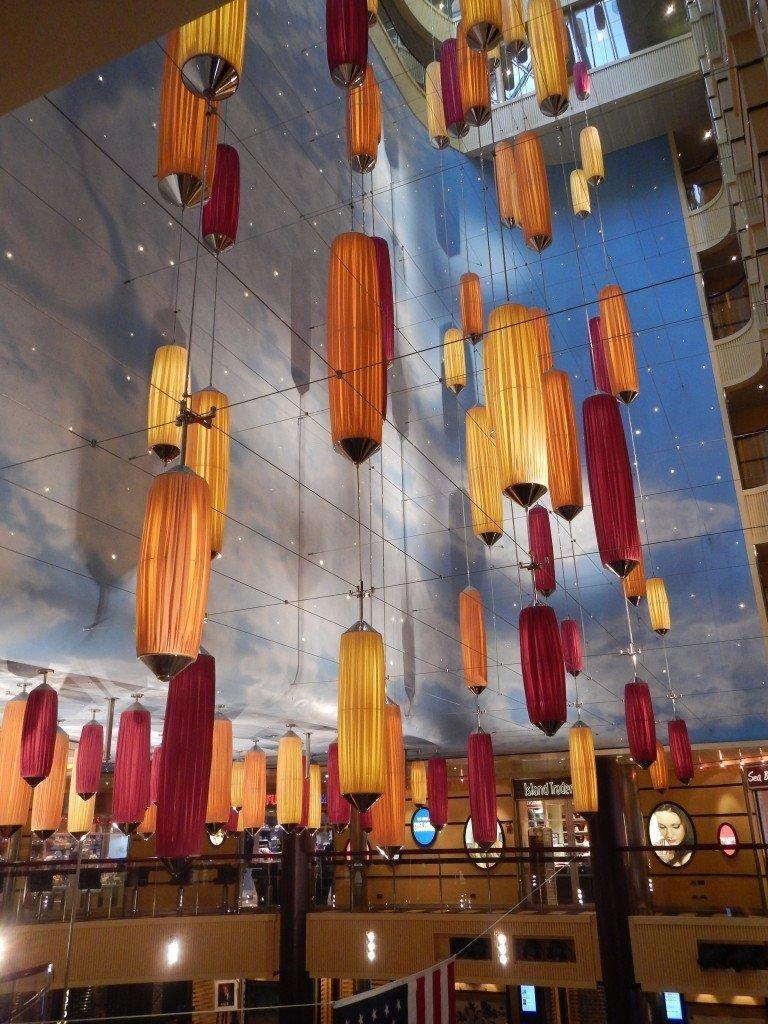 Carnival Breeze Atrium