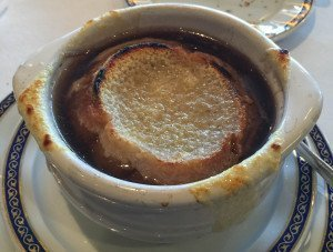 "French Onion Soup - ""Les Halles"""