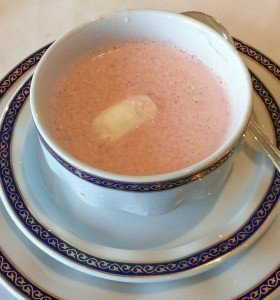 Chilled Strawberry Bisque