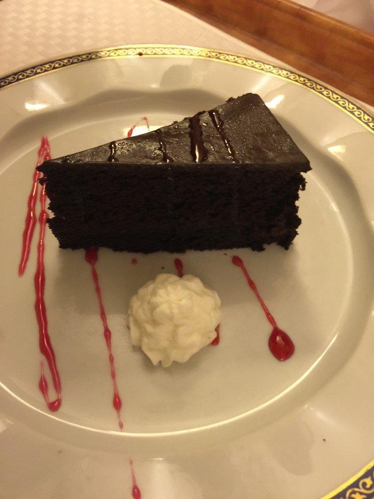 Room Service Chocolate Cake