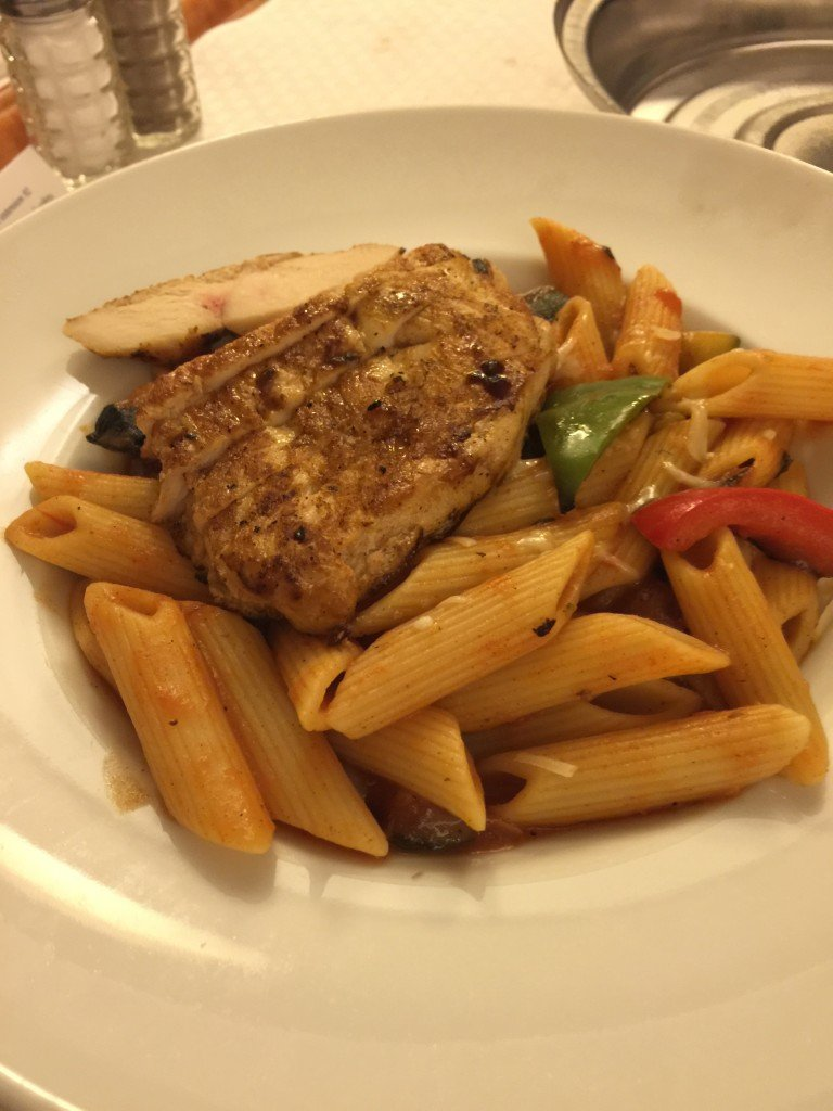 Room Service Pasta with Chicken