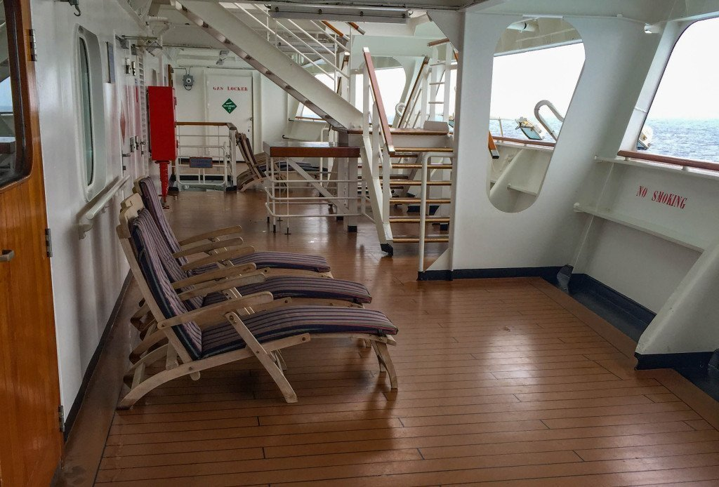 MS Amsterdam Deck 2 Aft (Secret Deck)