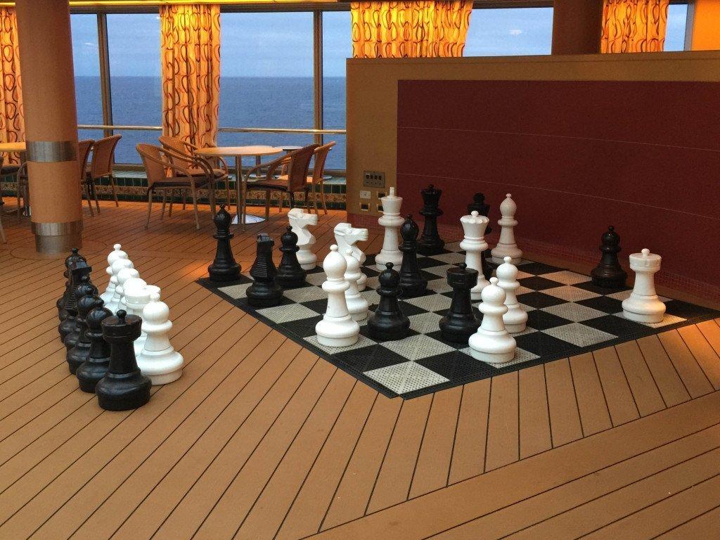 Lido Pool Giant Chess Board