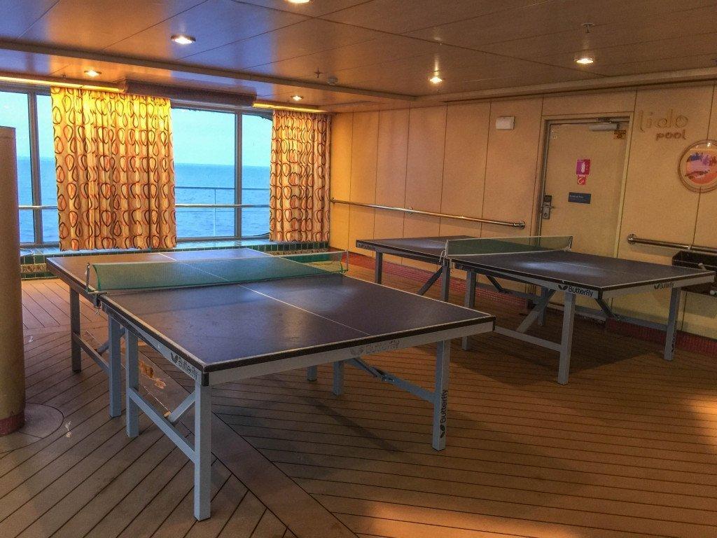 Lido Pool Ping Pong Table