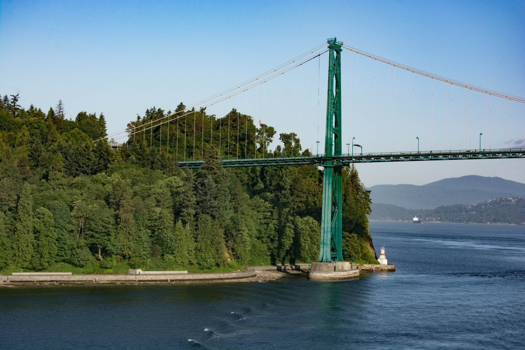 Lion's Gate Bridge - Vancouver