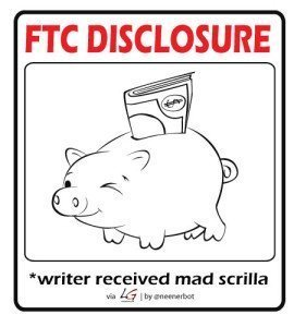 FTC Disclosure - Writer Got Paid
