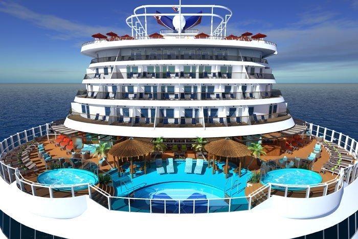 Carnival Vista - Havana Pool