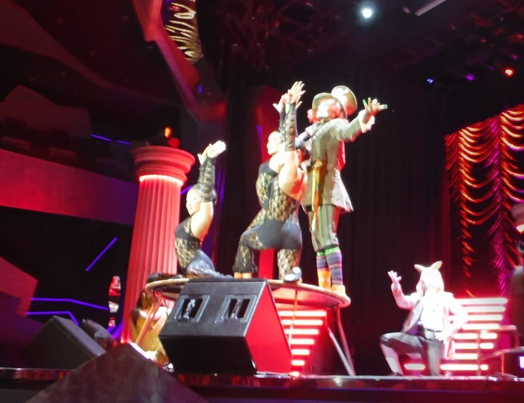 MSC Divina Entertaiment - Pantheon Theater - Mad Hatter