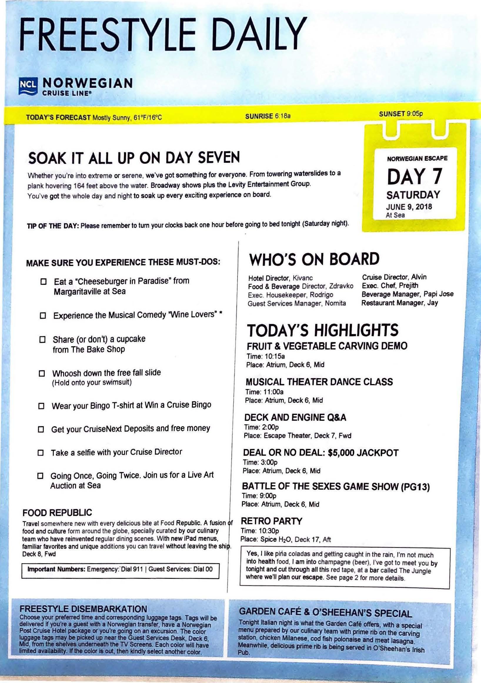 Norwegian Escape – NYC Bermuda – Day 7_Page_1