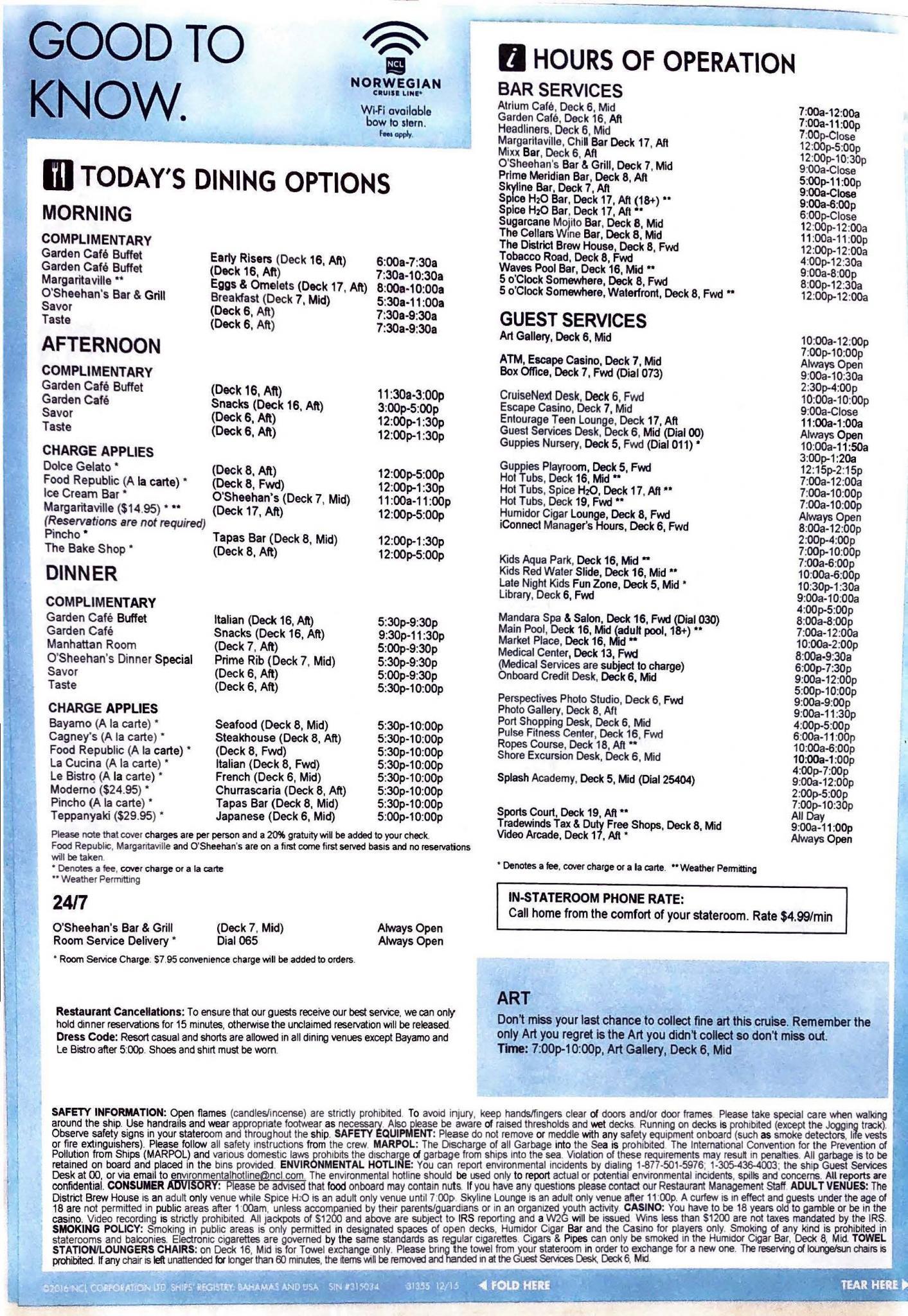 Norwegian Escape – NYC Bermuda – Day 7_Page_4